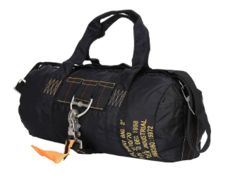 Military biker bag Foster Black
