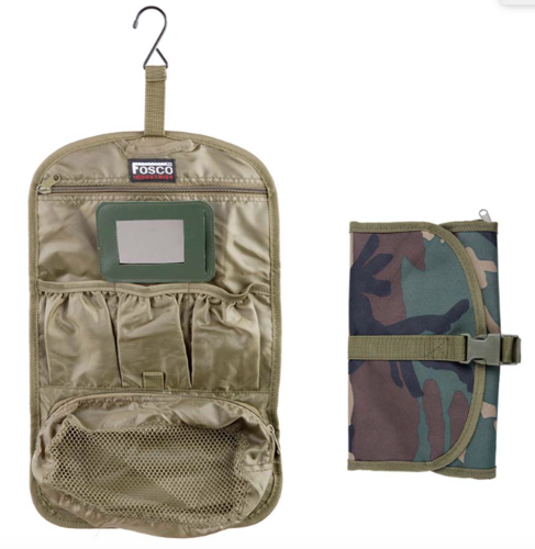 Military toilet bag small