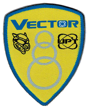Label racing style 010 Vector USA