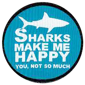 Label Diver style 002 Happy sharks
